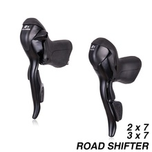 2*7 3*7 Road Bike Shifter Double 7s 14s 21s 7 Speed Brake Levers bicycle parts For Parts R472 R473 SHIMANO SRAM microshift sb r472 double 2x7 speed shifters sb r473 trip 3x7 shift lever road bike part derailleurs compatible for shimano page 9