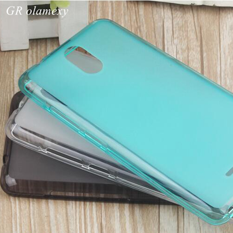 GR olamexy TPU Mobile Phone Case for Qmobile