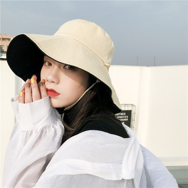 Sun Hats For Women Summer Beach Women Hat Brim Ladies Sun Hat Casual UV  Protection Foldable Beige Black Yellow Purple Hats Lady 7c4ffa838e8