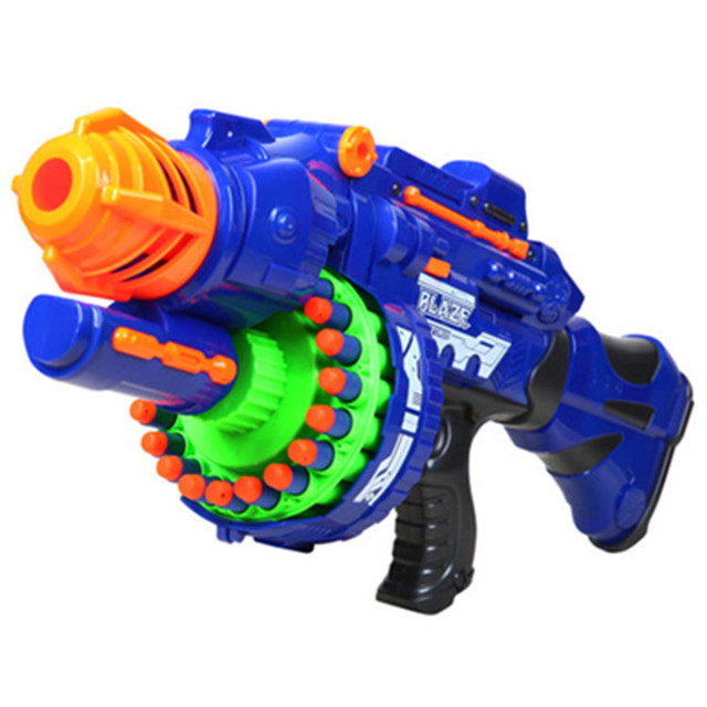 HOT!!! 2015 free shipping fashion toy gun Electric soft gun 20 sniper gun bullet toy gun boy toy 3 colors