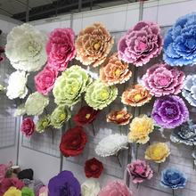 50/60/70/80cm artificial flowers thanksgiving plants fake paper farmhouse decor fall decorations Stage Christmas equipment