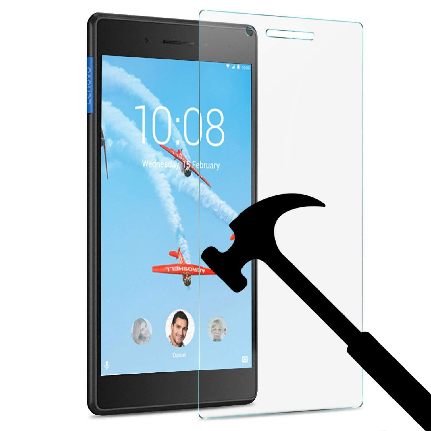 9H Tempered Glass For Lenovo Tab 7 Protective Film Case For TB-7304F TB 7304F 7304 7304I 7304X Tab4 7.0 Tablet Screen Protector(China)