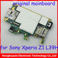 original good quality full function Motherboard for Sony Xperia Z1 L39H C6902 main board  logic system board circuit board