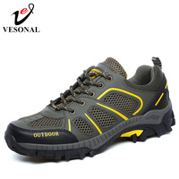 VESONAL 2018 Spring Summer Breathable Light Mesh For Men Sneakers Male Shoes Lover Casual Adult Walking
