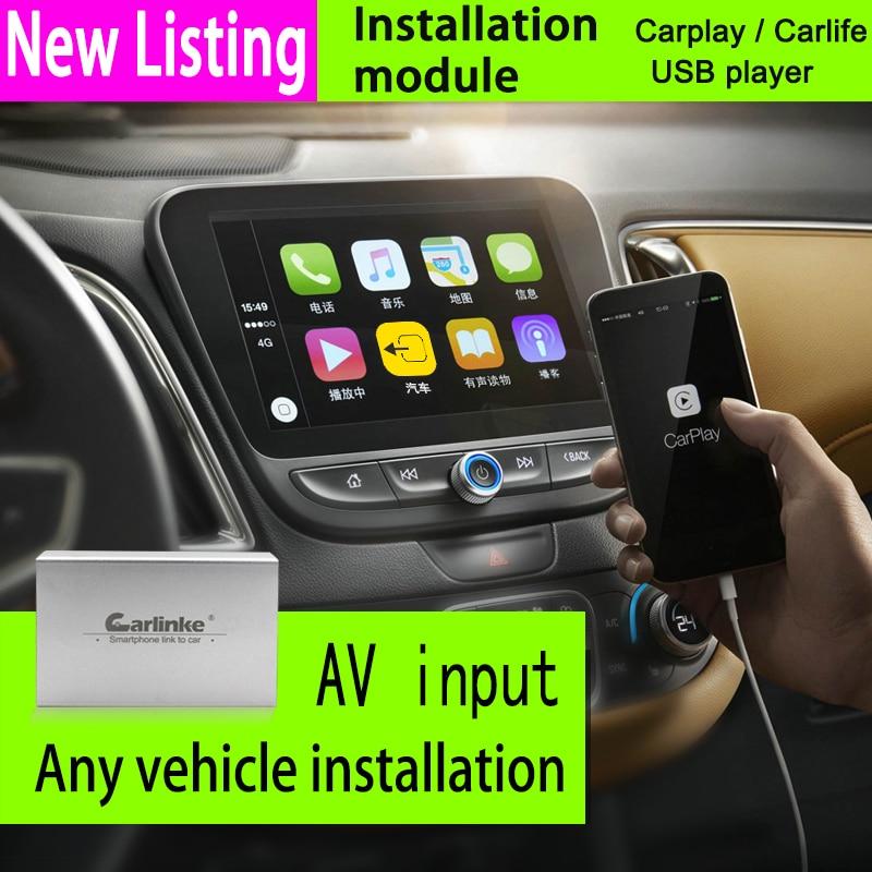 all 2din 1din car Carlinke carplay box steering-wheel apple carplay android car Mirror box multimedia gps navigation player