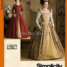 Custom-madeR-690 Vintage disfraces 1860 s guerra Civil Southern Belle Ball vestido de boda/Vestido gótico Lolita vestidos victorianos