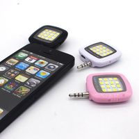 10pcs selfie FLASH Lamp for iPhone SE 6 6S Plus Galaxy Note 5 S6 Camera Phone Multiple Photography SYNC fill in light