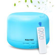 300ml Electric Aromatherapy Essential Oil Aroma Diffuser Rem