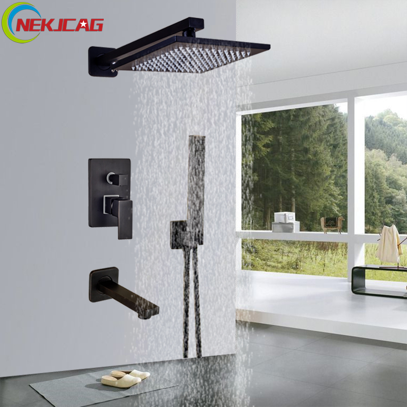"Здесь продается  Bathroom Shower Faucet 12"" Rainfall Shower Faucet Set 3 Functions Bathroom Faucet Cold and Hot Mixer Tap  Строительство и Недвижимость"