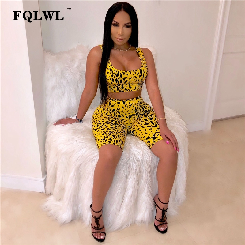 FQLWL Backless Bodycon Leopard   Jumpsuit   Women Short Summer Playsuit Snake Print Ladies Sexy Club Romper Womens   Jumpsuit   Female