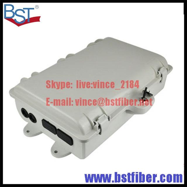 16 Ядра FTTH-Fiber Optic Box, Материал ABS Коробка, FTTH Распределительная Коробка, ODB, Адаптер PLC Splitter Выбор