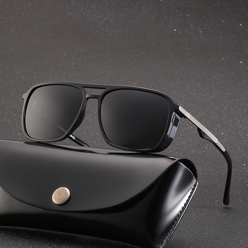 Fashion Men Business Sunglasses TR90 Anti-ultraviolet  Polarizied Driver Driving Goggles Hd Vision 2019