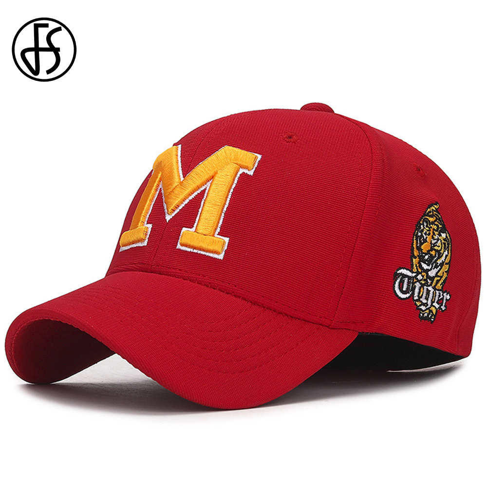 FS 2019 Fashion Elastic Cappello Baseball Cap Tiger Embroidery Women Men Animal Caps Casual Streetwear Dad Hats Gorra Animales