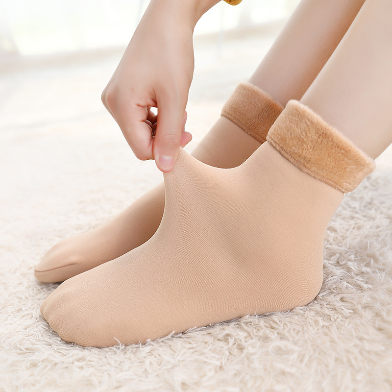 Hot New Arrival Winter Warm Tube Socks Thick Snow Socks Female Home Sock Style for Women 27KK7 01 14