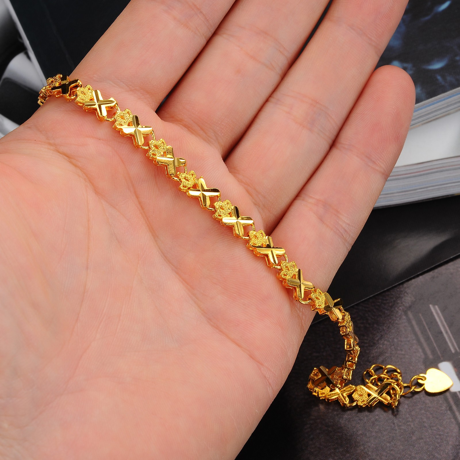 gold karat z worth bracelet alert