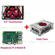 Framboise Ip3 Modèle B Conseil + 3.5 TFT LCD Tactile Écran D'affichage + Clear Case Kit