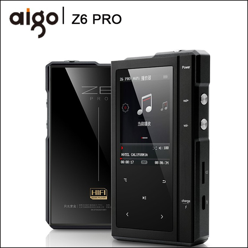 Tragbares Audio & Video Mp3-player Aigo Mp3-105 Hifi Player Loseless Tragbare Mp3 Mini Mit Hallo-res Flac Tft Bildschirm Wm8965 Mini Tragbare Dsd Sport Eq Einstellbar