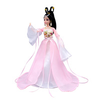 Saleaman Chinese Barbie Than Ancient Costume Doll Set Joint Body Ancient Style Fairy Princess Girl Toy