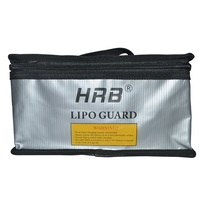 High Quality 215 155 115mm Fireproof Rc LiPo Battery Portable Explosion Proof Safety Bag Safe Guard