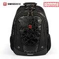 Swisswin 15.6 дюймов ноутбук рюкзак моды легкий печати мешок школы венгер Multi-карманный Рюкзак Для Подростков Mochila