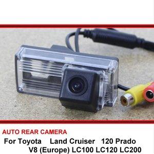 FOR Toyota Land Cruiser LC 100 120 200 V8 Prado Night Vision Rear View Camera Reversing Camera Car Back up Camera HD CCD