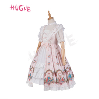Fox Country ~ Sweet Printed Lolita Dress with Open Front