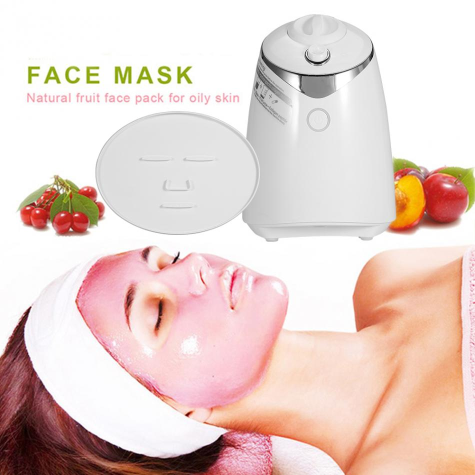 DIY Face Mask Machine Natural Fruit Vegetable Face Mask Maker Skin Care Tool Fresh Collagen Automatic Facial Mask Beauty Device цена