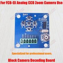 Модуль камеры с зумом CVBS BNC декодирующая плата для FCB-EX CCD серии аналоговый блок камеры w/RS485 фокус OSD меню управление Excelax