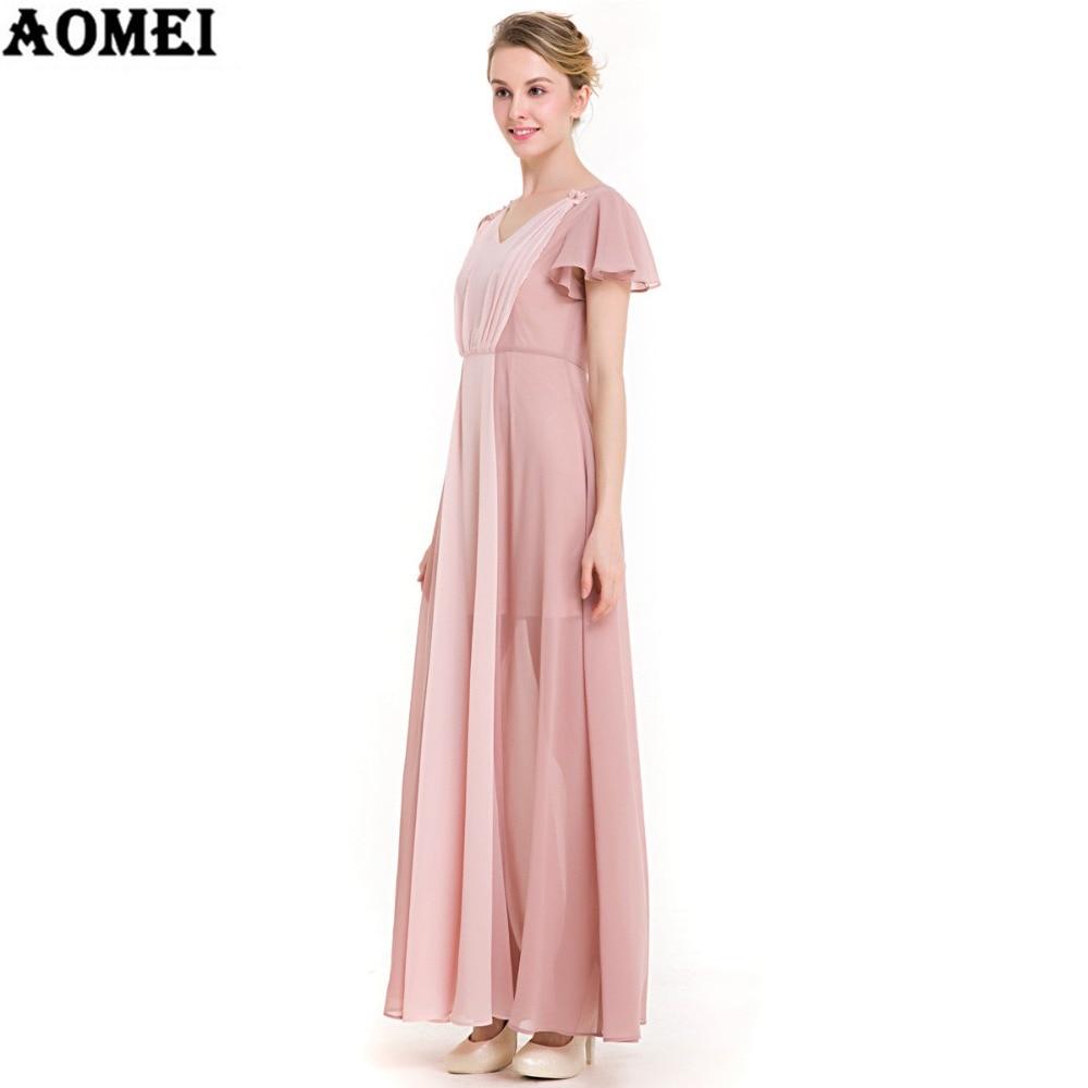 Bonito Vestido De La Dama De Caqui Ideas - Colección de Vestidos de ...