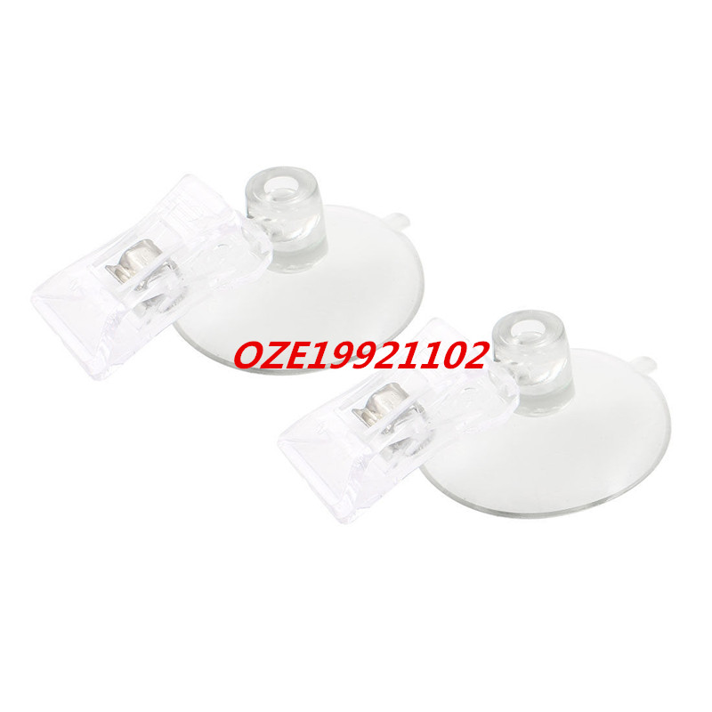 Plastic Round Suction Cup Clip Advertising Pop Display Holder Stand Clamp