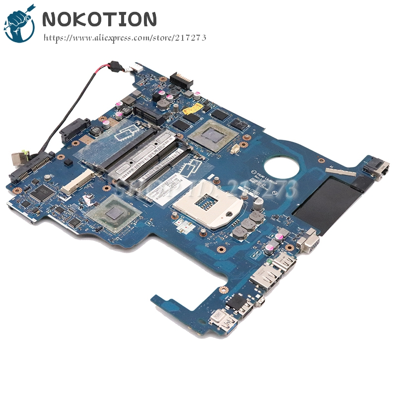 NOKOTION For acer aspire 5950 5950G laptop motherboard P5LM0 LA-6931P MBRA502001 MB.RA502.001 HM65 DDR3 5850M GPU NOKOTION For acer aspire 5950 5950G laptop motherboard P5LM0 LA-6931P MBRA502001 MB.RA502.001 HM65 DDR3 5850M GPU