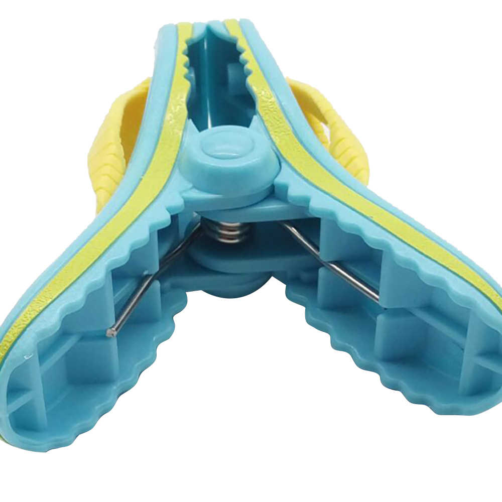 1PCS Plastic Strand Slipper Handdoek Clips Grote Zon Bed Ligstoel Houder Zwembad Wasknijper Quilt clip Sok clips Simulatie schoenen