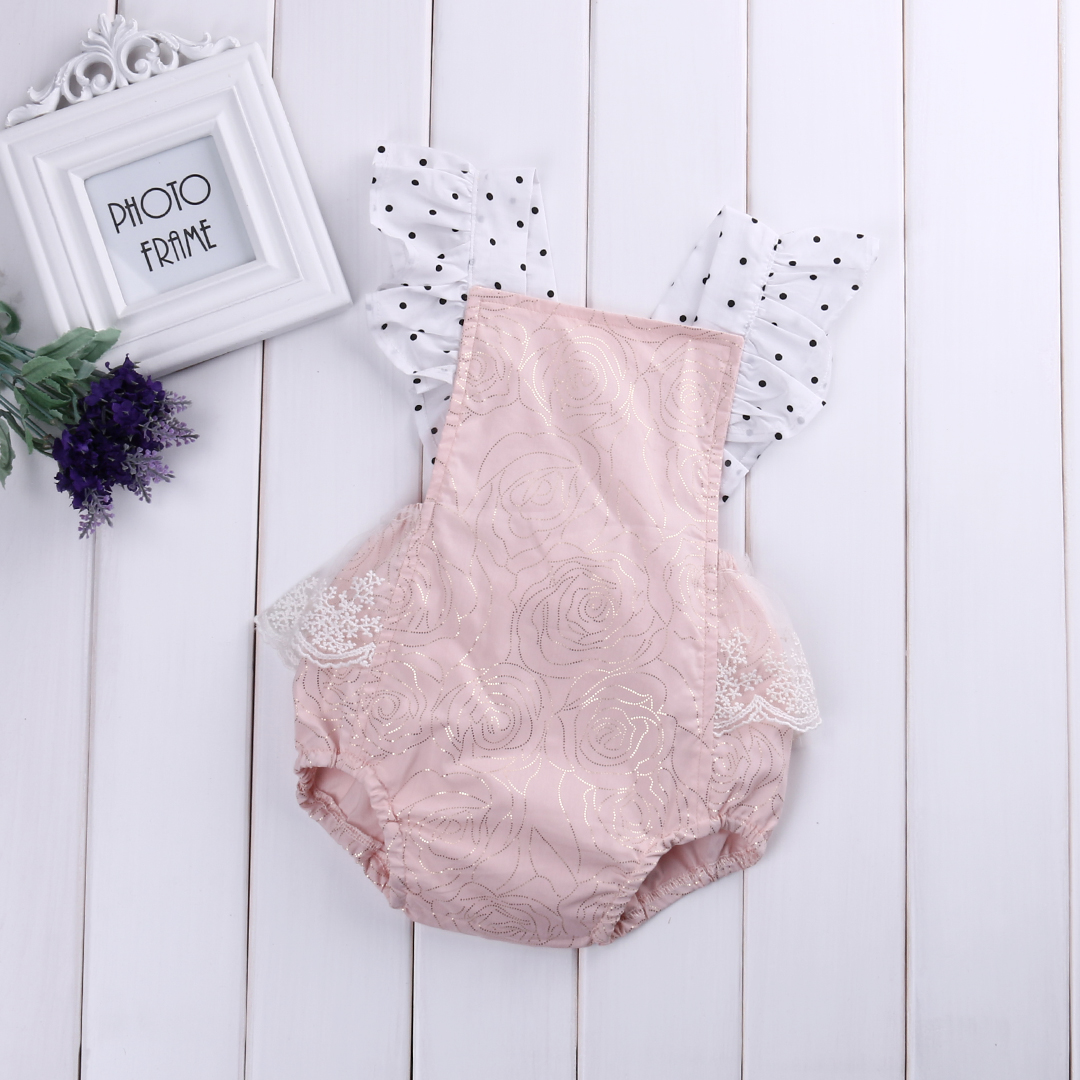 Lace Rompers Girls Baby