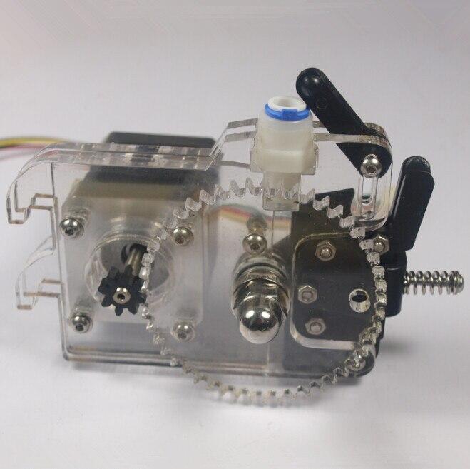 Funssor alimentador da extrusora Ultimaker originais montar kitfor DIY 3D bowden extrusora impressora Acrílico kit 1.75/3 filamento três milímetros