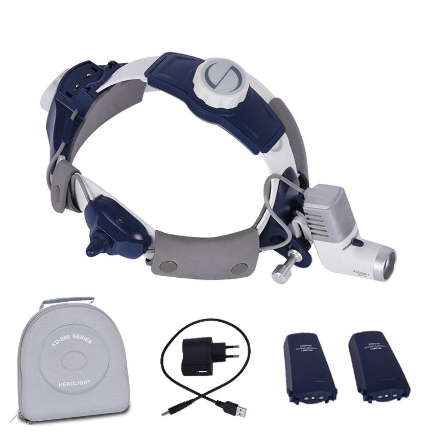 Berufs Chirurgische Scheinwerfer KD-202A-7 Medizinische led licht kostenpflichtige Dental scheinwerfer helligkeit Höhe Einstellbar 5 watt 50000 h