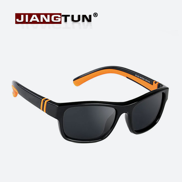 a14c78c8bd JIANGTUN Fashion Vitality Child Boys Girls Kids Polarized Sunglasses UV400  Shades Baby Cool Goggles Sun Glasses