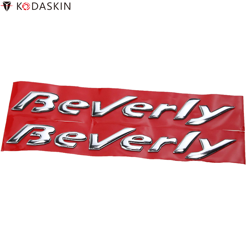 KODASKIN Motorcycle 3D Raised Emblems Stickers Decal For Piaggio Beverly