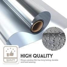 Multi-Breite, Länge 2/3/5 m Eine Möglichkeit Spiegel Fenster Film. selbst-adhesive Reflektierende Privatsphäre Glas Farbton, Wärme Control Solar film