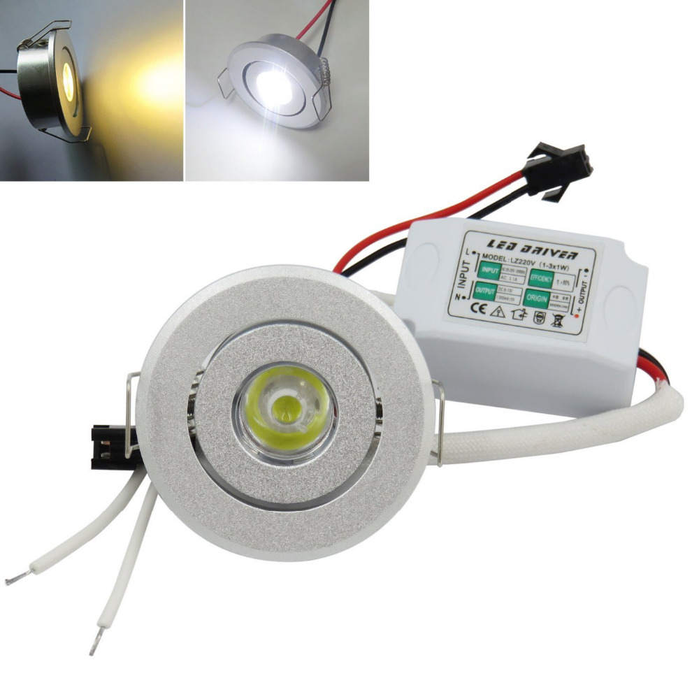 Lamps LED Recessed Downlights 85 265V Spotlights 1W Mini Down Lights Home  Decor In LED Spotlights From Lights U0026 Lighting On Aliexpress.com | Alibaba  Group
