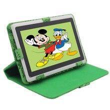 """Q8 precio Bajo 7 """"Tablet PC Android 4.4 de Google A33 Quad-Core 8 GB WiFi regalo de los cabritos juguetes para niños Tablet PC Soporte Holster"""