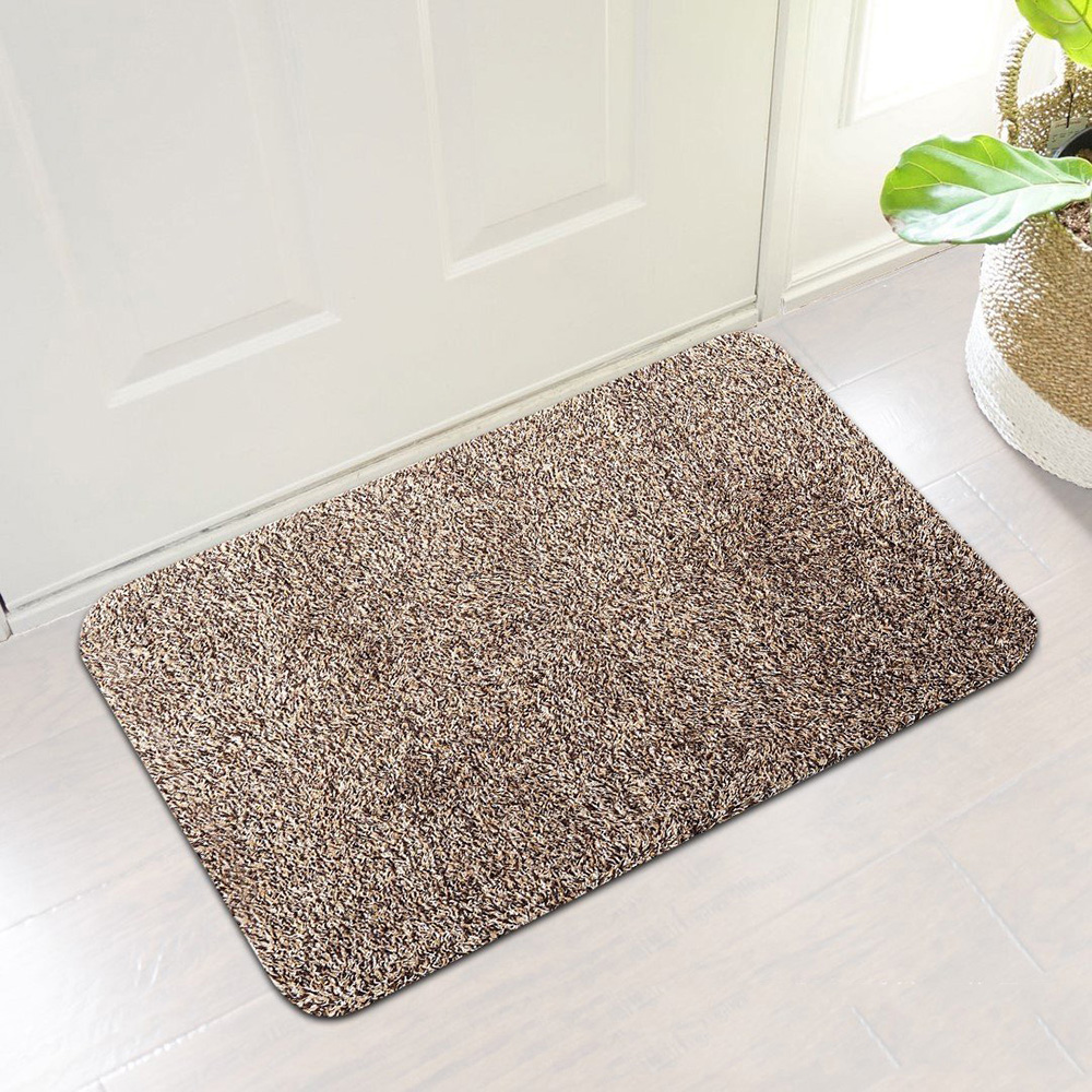 Super Absorbant Magic Door Mat Microfibre Clean Step Super Mat Washable Doormat Carpet for Home