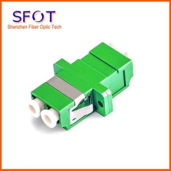 10pcs/lot Fiber Optic Adapters Adaptors LC/APC Duplex SC type Fiber Optic Adapter