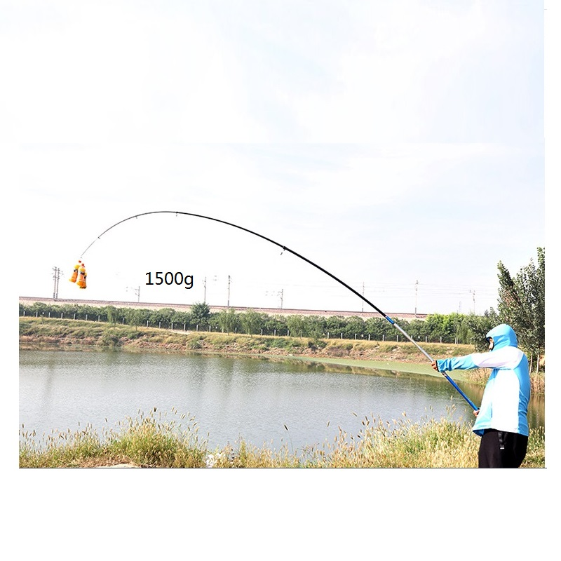 Super hard long distance throwing rod for river fishing or other deep water big fish dz 313 elastic head strap head belt for gopro hero 4 3 2 1