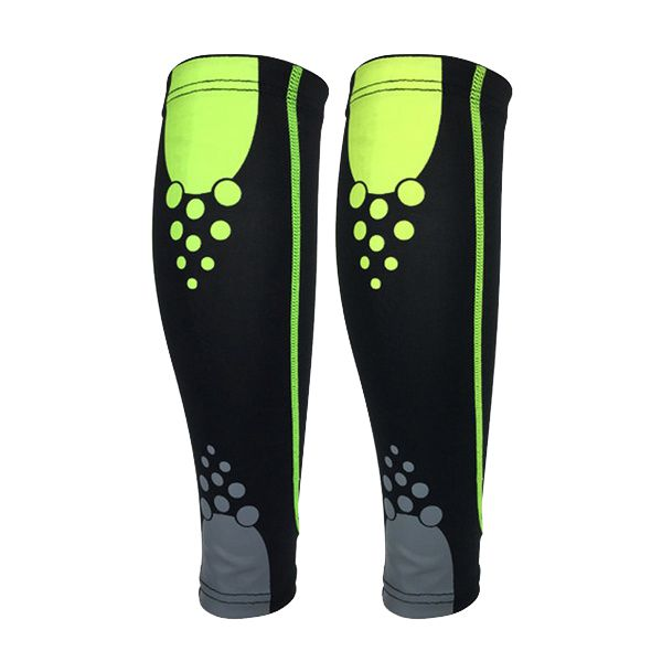 Sport Basketball Leg Knee Calf Wrap Brace Support Pad Guard Protector Sports Protector Gear