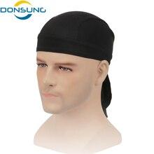 DONSUNG Sweatproof Cycling Cap Sunscreen Headwear Bike Scarf Bicycle Bandana Pirate Headband Riding Hood Sports hat Headcloth