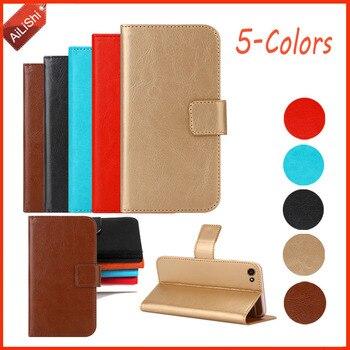 AiLiShi moda PU Flip para SERVO R11 W680 W580 V5s V8100 H1 H2 H5 funda billetera cubierta protectora piel SERVO caso de cuero