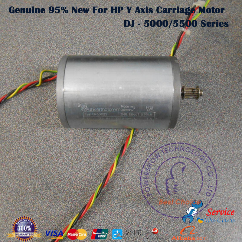 Original 95 New Q1251 60268 C6090 60092 C6090 60328 Carriage Scan Axis Y Motor Assembly For