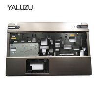YALUZU NEW Palmrest cover C shell case For TOSHIBA P850 P855 Silver Laptop Base Upper Case Keyboard Bezel Shell