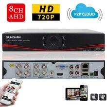 Sunchan hd 1080n 1080n salida hdmi cctv grabador de vídeo digital 8ch 8 canales nvr dvr sistema de video vigilancia