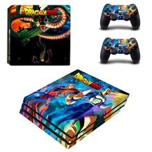 Dragon Ball Z Super Goku PS4 Pro Skin Sticker For Sony PlayStation 4 Console and Controllers PS4 Pro Skin Sticker Decal Vinyl